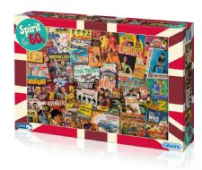 Spirit of the 1960's Jigsaw - 1000pc Jigsaw Puzzle